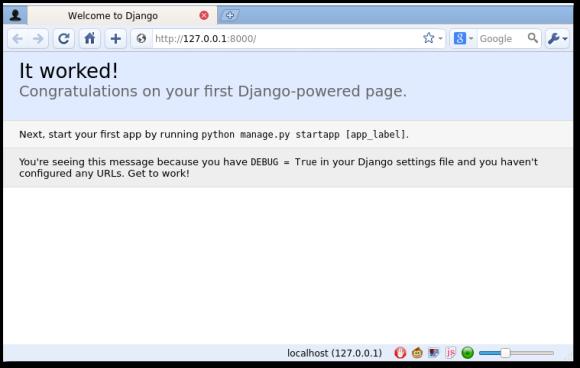 django new project